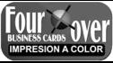 logo de Four Over Business Cards