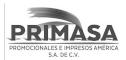 logo de Promocionales e Impresos America PRIMASA