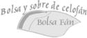 logo de Bolsa y Sobre de Celofan Fan